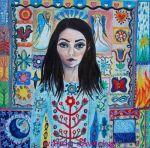 Wystawa malarstwa Wandy Sawickiej