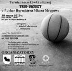 Turniej koszykówki TRIO-BASKET w Mrągowie