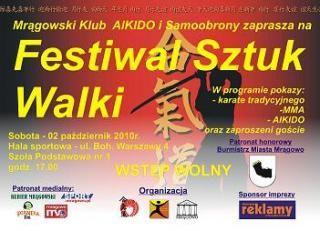 Festiwal Sztuk Walki w Mrągowie