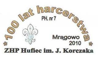 100 lat harcerstwa z Hufcem Korczaka w Mrągowie.