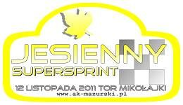 Jesienny Supersprint – listopad 2011