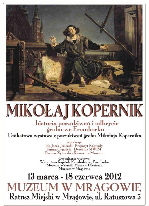 MIKOŁAJ KOPERNIK - historia poszukiwań i odkrycie grobu we Fromborku