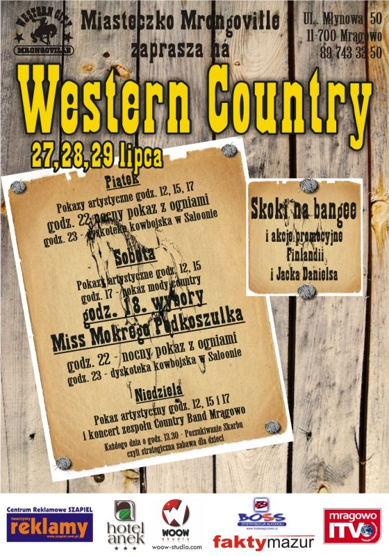 Western Country w Mrongoville