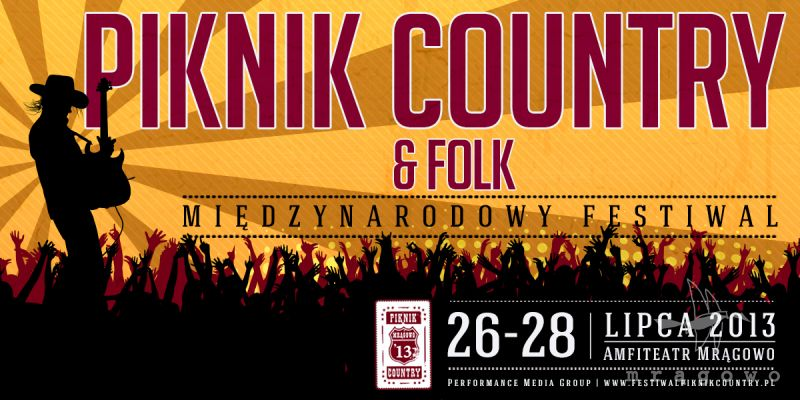 Program Piknik Country & Folk 2013