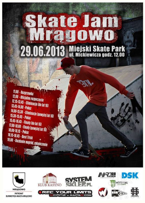 Skate Jam Mrągowo