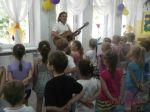 Mrągowskie przedszkolaki na Pikniku Country