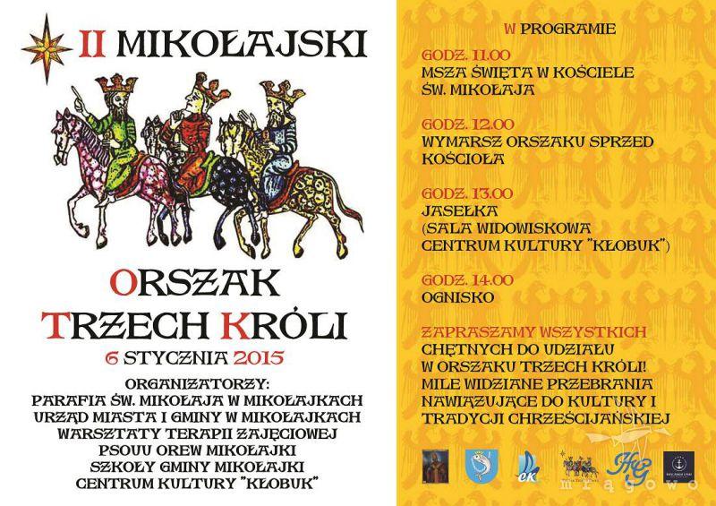 II Mikołajski Orszak Trzech Króli