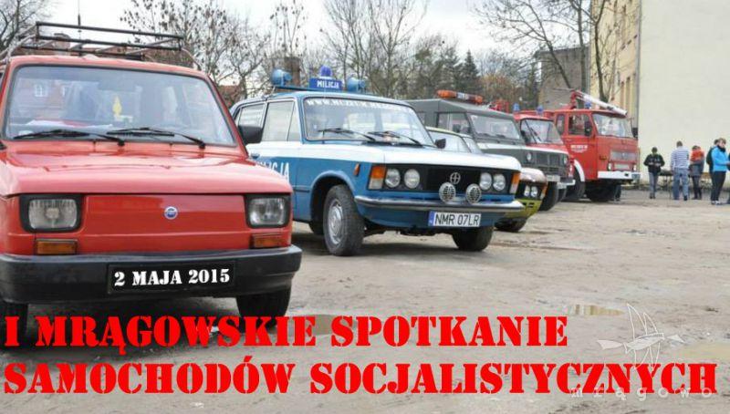 Pierwsze Mrągowskie Spotkanie Samochodów Socjalistycznych