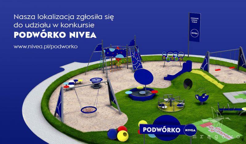 Podwórko od Nivea w Marcinkowie