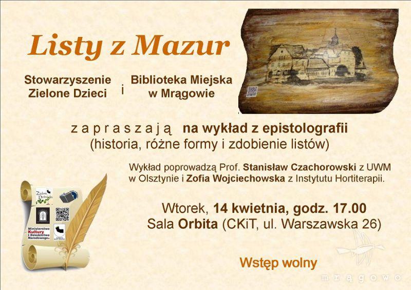 Listy z Mazur