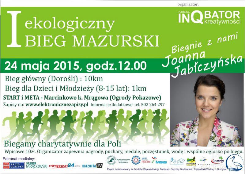 I Ekologiczny Bieg Mazurski