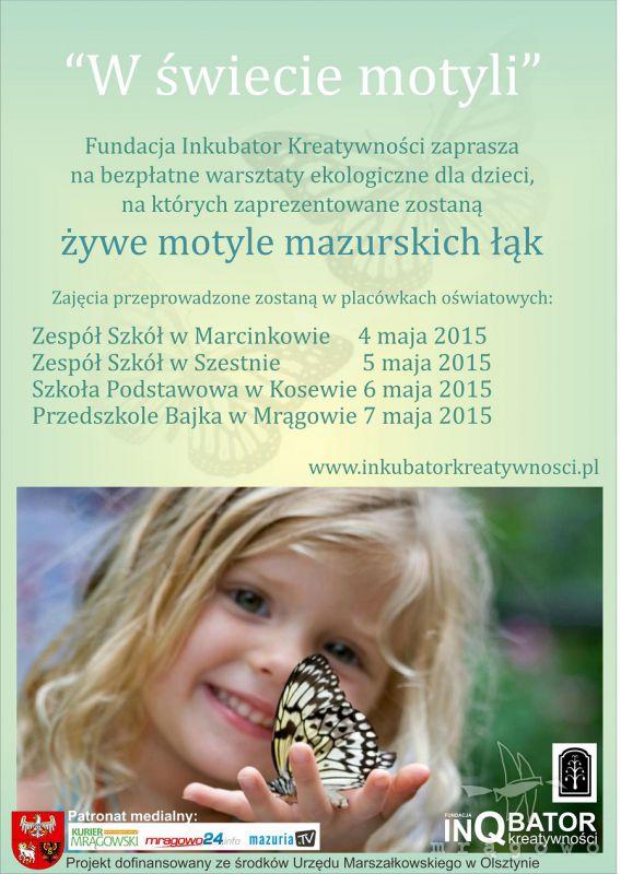 W świecie motyli - warsztaty ekologiczne dla dzieci