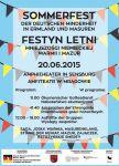 SOMMERFEST - Letni Festyn Mniejszości Niemieckiej