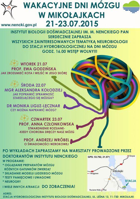 Wakacyjne Dni Mózgu