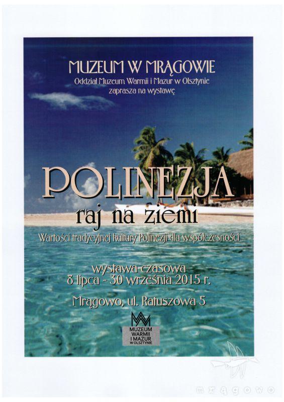 Wystawa Polinezja - raj na ziemi