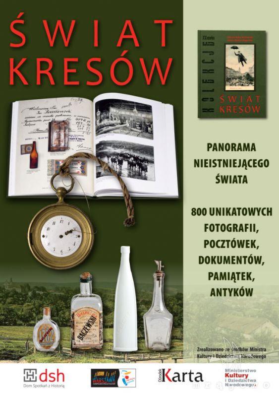 Listy z Mazur na stoisku Festiwalu Kultury Kresowej