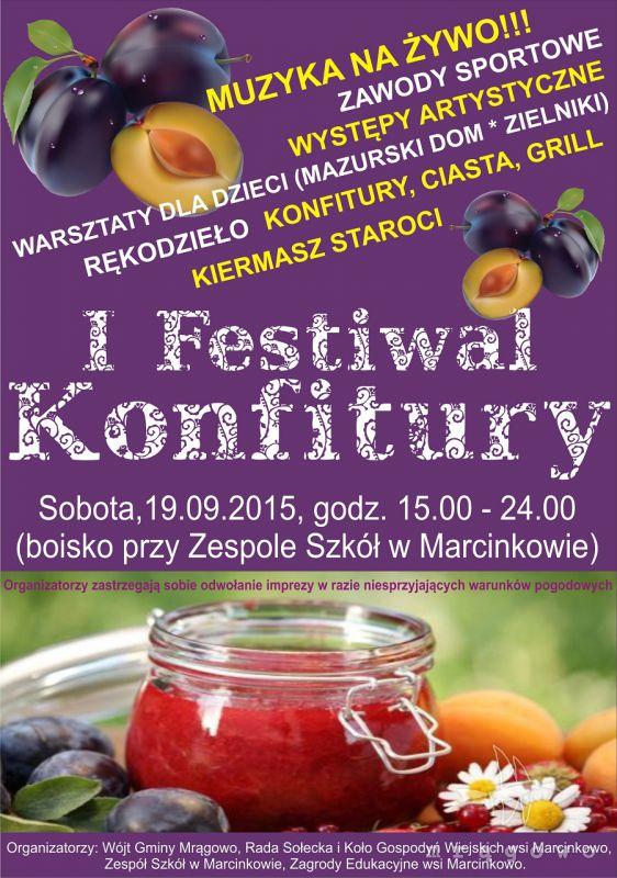 I Festiwal Konfitury