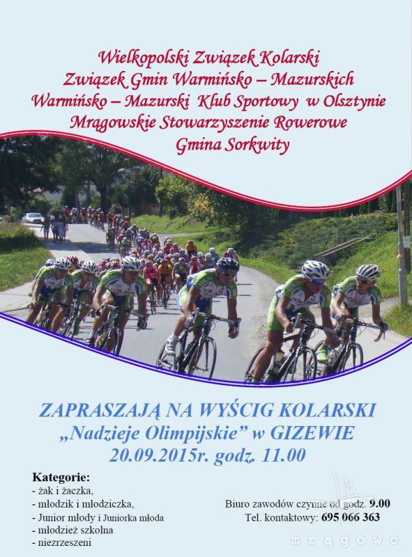 Wyścig kolarski w Gizewie