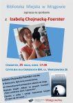 Izabela Chojnacka-Foerster w Bibliotece Miejskiej