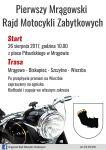 Pierwszy Mrągowski Rajd Motocykli Zabytkowych