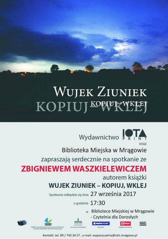 Spotkanie ze Zbigniewem Waszkielewiczem