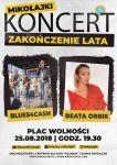Muzyczne zakończenie lata w Mikołajkach