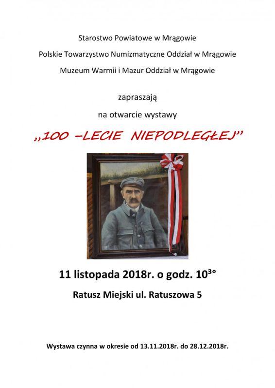 Wystawa 100-lecie Niepodległej