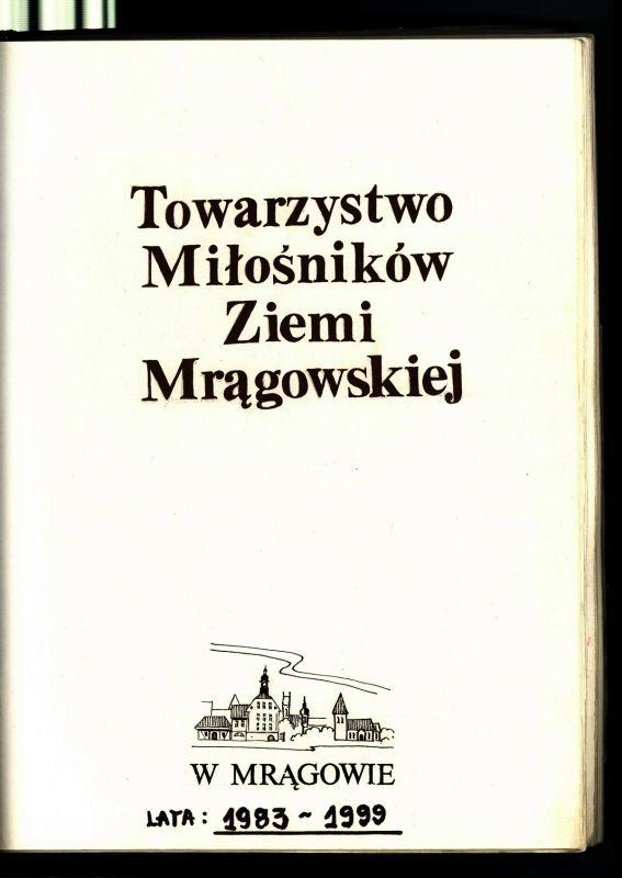 Jubileusz 45-lecia Towarzystwa Miłośników Ziemi Mrągowskiej