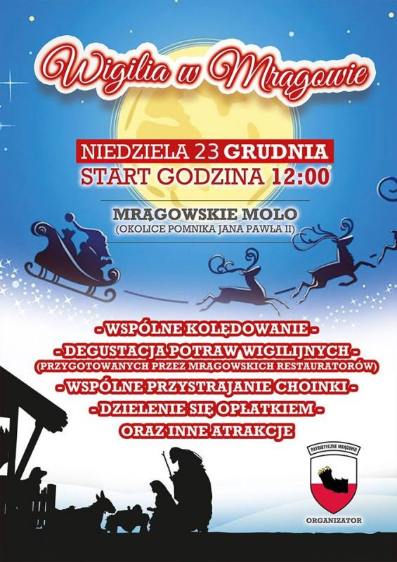 Mrągowska Wigilia 2018